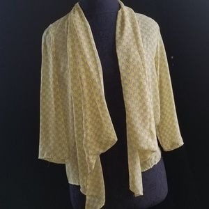 ROMEO & JULIET sheer kimono open front